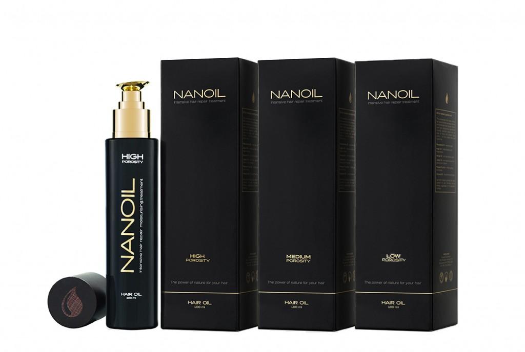 Olejek do każdego rodzaju włosów- Nanoil